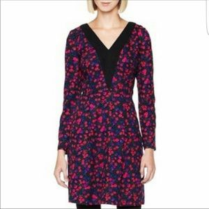 Long sleeve floral dress - like new!